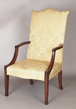 Marvelous Thomas Schwenke Inc. Antiques   Replica Furniture In The Federal Style    The New Salem Lolling Chair