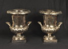 Pair Sheffield Silver Wine Coolers - Inv. #10406
