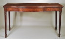 George III Serpentine Mahogany Serving Table - Inv. #10423