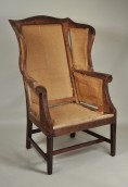 Hepplewhite Mahogany Wing Chair - Inv. #10438