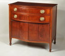 Rare Federal Serving Cabinet - Inv. #10689