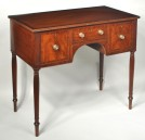 Fine Sheraton Carved Mahogany Dressing Table - Inv. #10533