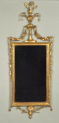 Hepplewhite Carved & Gilded Mirror - Inv. #10580