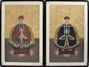 Pair Asian Ancestral Portraits - Inv. #10601
