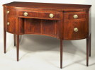Connecticut Hepplewhite Inlaid Mahogany Sideboard - Inv. #10613