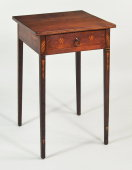 Exceptional Hepplewhite Inlaid Table - Inv. #10667