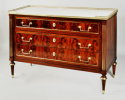 French Directoire Marble Top Commode - Inv. #10684